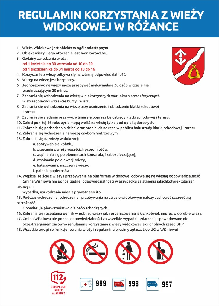 Regulamin widokowa